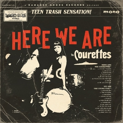 THE COURETTES – HERE WE ARE THE COURETTES 1 - fanzine