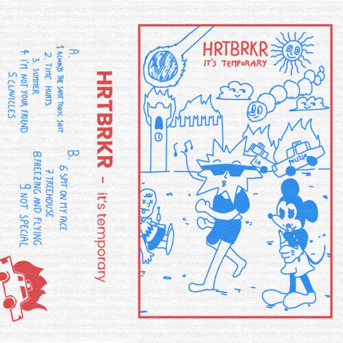 "HRTBRKR-""It's Temporary"" 2021 autoproduzione 3 - fanzine"