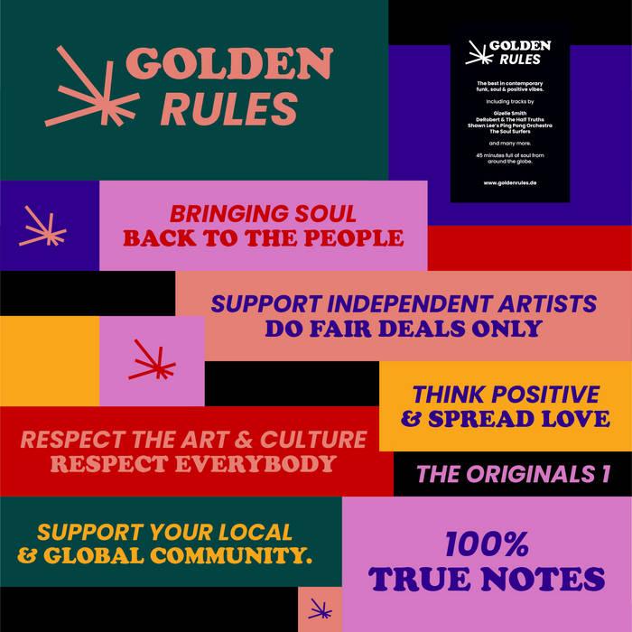 Autori Vari - Golden Rules 1 - Golden Rules 2021 1 - fanzine