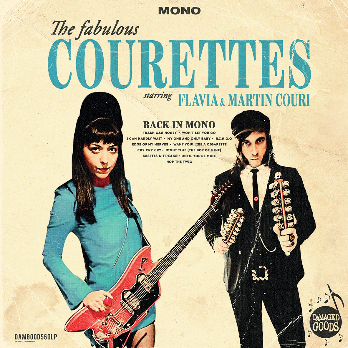 THE COURETTES – BACK IN MONO